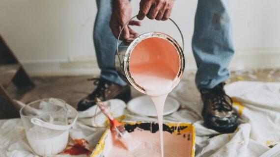 Pintar habitación de tu casa